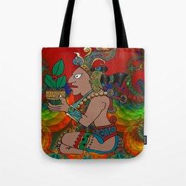 Yucatan Psychedelic Mexicano Visiones Tote Bag