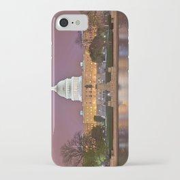Glowing Washington DC Capitol iPhone Case