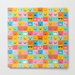 Emojicon Metal Print
