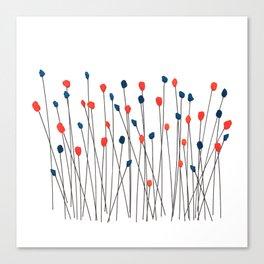 Blommor Canvas Print