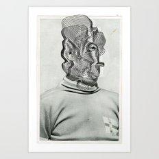 Another Portrait Disaster · a Man Art Print