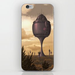 Hydroponic facility security patrol iPhone Skin
