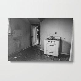 Barkman Kitchen, Arena, North Dakota 6 Metal Print