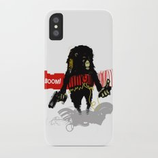 Monkey Go Boom Now Slim Case iPhone X