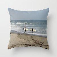 Catch A Wave Throw Pillow