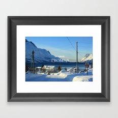 Tromso Framed Art Print
