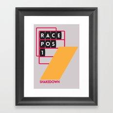 Drive - Shakedown Framed Art Print