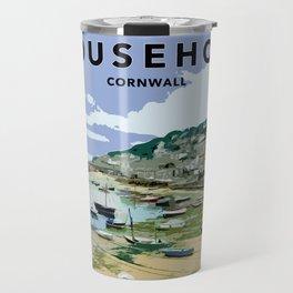 Mousehole Cornwall Travel Mug
