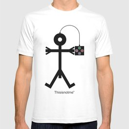 Thisisnotme Video Gaming Icon T-shirt