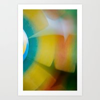 dimensions to spin Art Print