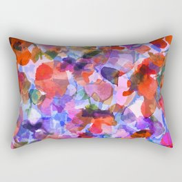 Nasturtium Garden Rectangular Pillow
