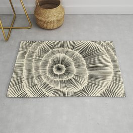 Hand Drawn Patterned Abstract III Rug