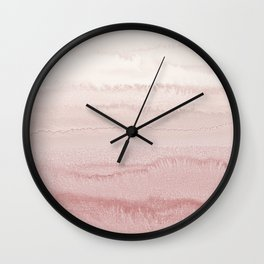 WITHIN THE TIDES - BALLERINA BLUSH Wall Clock