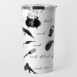 Macbeth Witches Chant Travel Mug