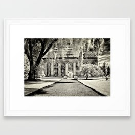the Glasshouse Framed Art Print