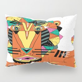 Bauhaus Lion Pillow Sham