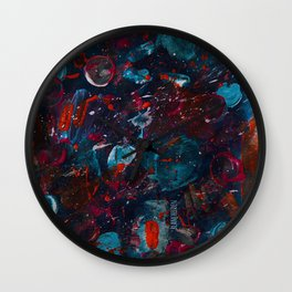 The P Explosion Wall Clock