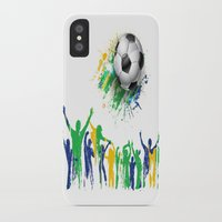 world cup iPhone & iPod Cases featuring World Cup Fever by Robin Curtiss