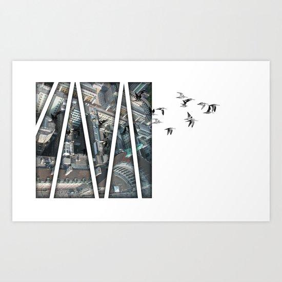 defection Art Print