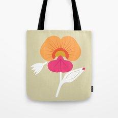 Coral Vine Tote Bag