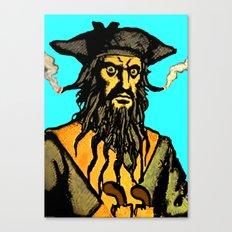 Gunslinger Teach Canvas Print