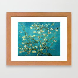 Vincent Van Gogh Blossoming Almond Tree Framed Art Print