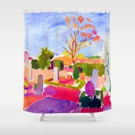 Karl Isakson Graveyard Shower Curtain