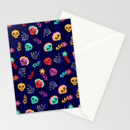 Fiesta Skulls #society6 #skulls Stationery Cards