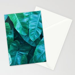 Plant collage VII Stationery Cards