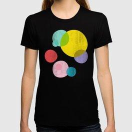 Rainbow Bubbles III T-shirt