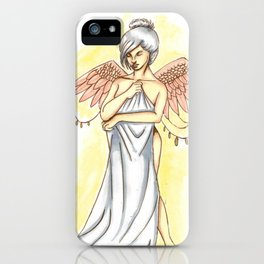 Young angel iPhone Case