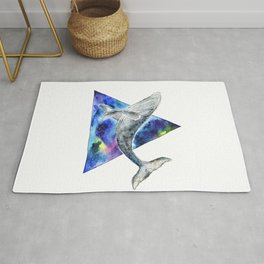 Galaxy Whale Rug