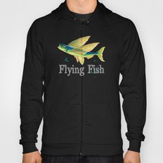 F is for Flying Fish Hoody