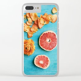 She Made Her Own Sunshine Clear iPhone Case