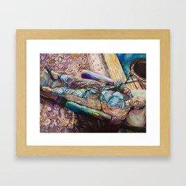 Waiting for Inspiration Framed Art Print