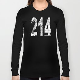 Vintage Dallas Area Code 214 Long Sleeve T-shirt