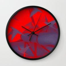 Silver Mountain No.1 Wall Clock