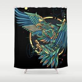 GARUDA Shower Curtain