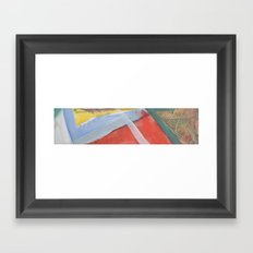 Crown Strip Framed Art Print