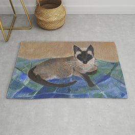 Siamese Napping Rug