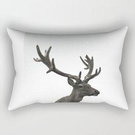 Single Deer Rectangular Pillow