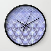 nordic Wall Clocks featuring Nordic Winter by gretzky