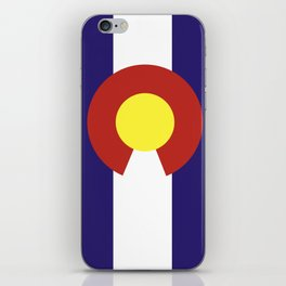colorado state flag united states of america country iPhone Skin