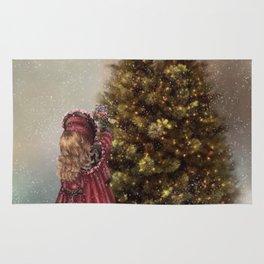 Decorating The Christmas Tree Rug