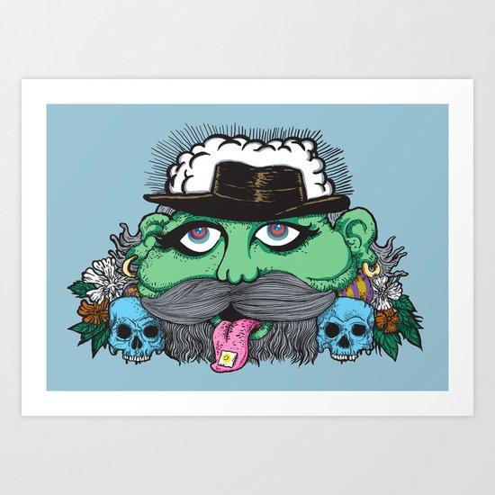 Eco Psyco Art Print