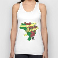 portugal Tank Tops featuring Força Portugal by iso. isodesignworld