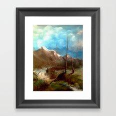 Soguk Nehir Framed Art Print