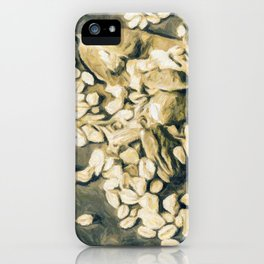 Contrast the thoughts iPhone Case