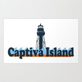 Captiva Island - Florida Collection. Art Print