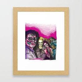 The Lost Zombie Boys Framed Art Print